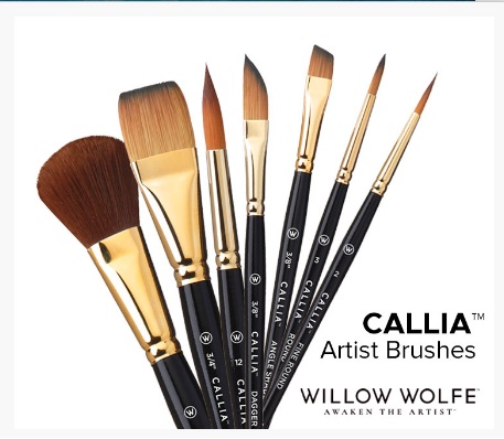 Doodlewash® Willow Wolfe Inc. Callia Artist Brushes International Giveaway