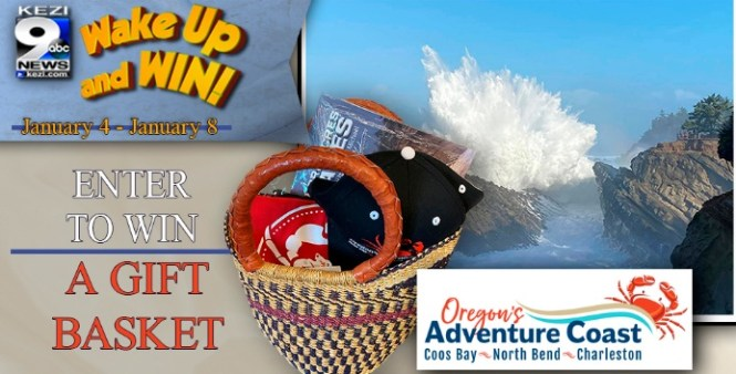 KEZI 9 News Wake Up And Win Oregon Adventure Coast Sweepstakes