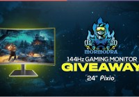 Mormodra Pixio 144Hz Curved Gaming Monitor Giveaway