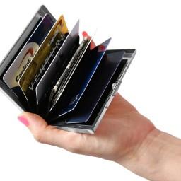 Stainless Steel RFID Blocking Credit Card Holder (2 Pack ...