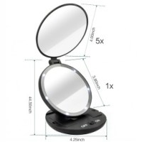 magnifying makeup mirror with lights - Style Guru: Fashion ...