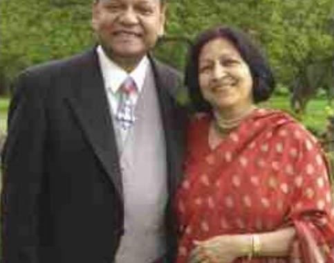 St. Jude's Founders - Nihal and Shyama Kaviratne