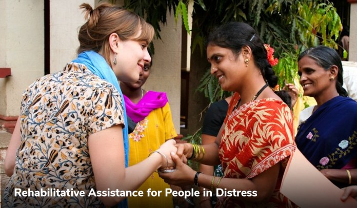 Rehabilitative Assistance for People in Distress