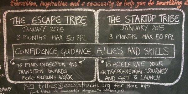 Tribes Chalkboard - slim