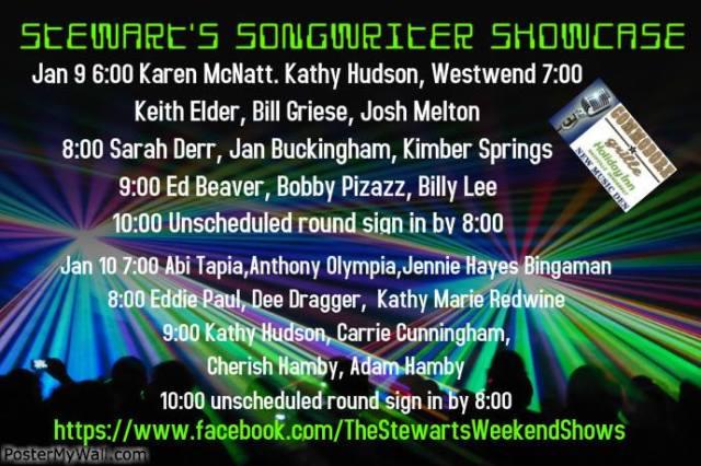 Stewart's SongWriter ShowCase