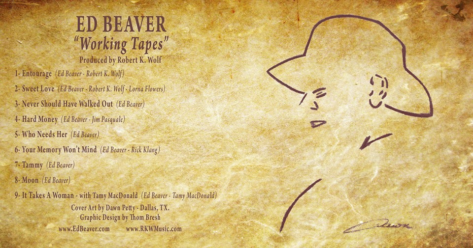 "Ed Beaver ""Working Tapes"""