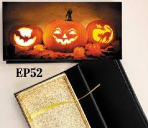 diy Halloween eyelash packaging