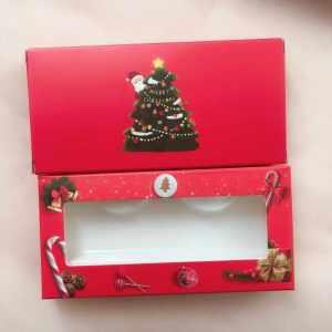 Christmas eyelash packaging box