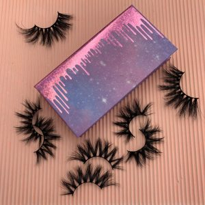 wholesale mink lashes and lashes packaging