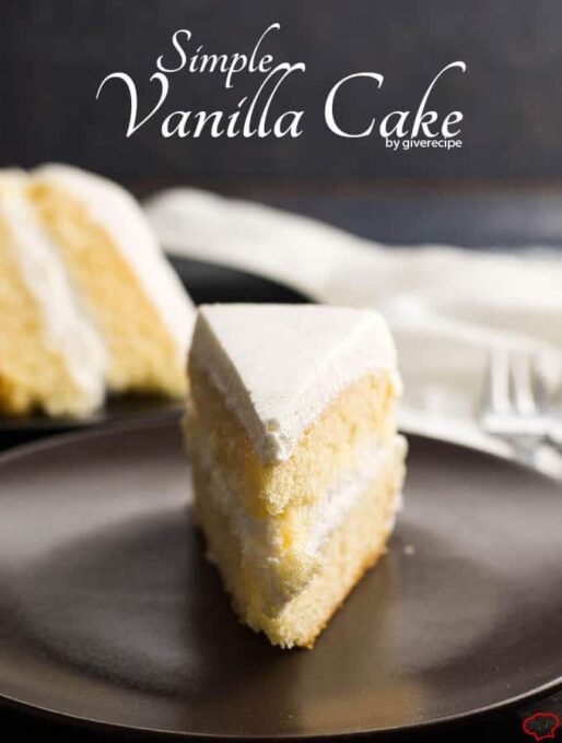 Easy Cake Recipes Plain