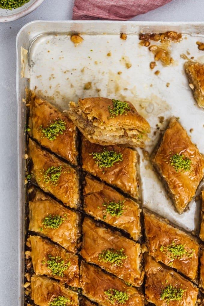 easy turkish baklava recipe