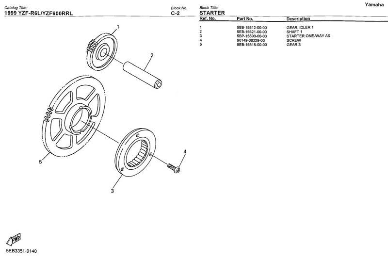 Schema Impianto Elettrico Yamaha R6 2001