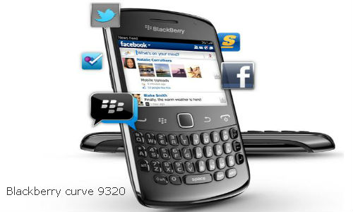 The New BlackBerry Curve 9320 – Elie Chahine