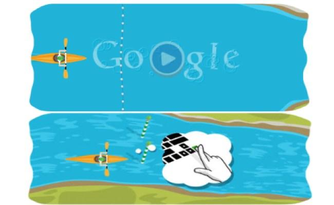 Google Doodles London 2012 Slalom Canoe Did You Enjoy