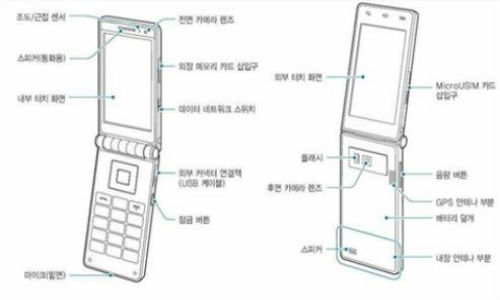 Galaxy Folder Manual leaked: Samsung Dual Screen Flip