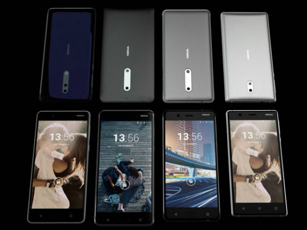 Nokia 9, Nokia 8, Nokia 7 spotted on GeekBench revealing key specs
