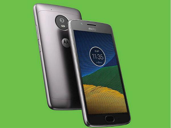 5% off on Motorola Moto G5 Plus (Gold, 32 GB) (4 GB RAM)