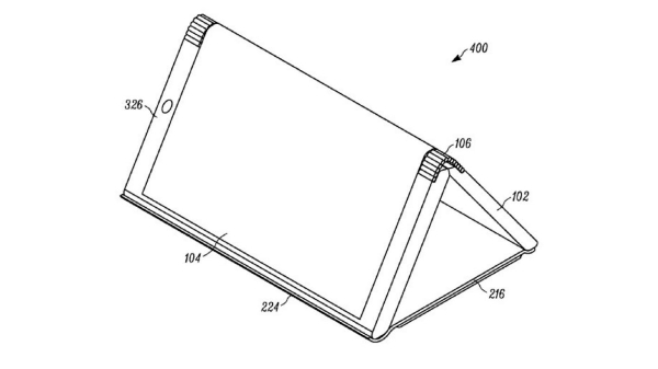 Motorola files patent for a foldable smartphones with