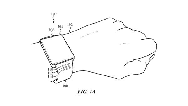 Apple patents smart bands for Watch showing fitness