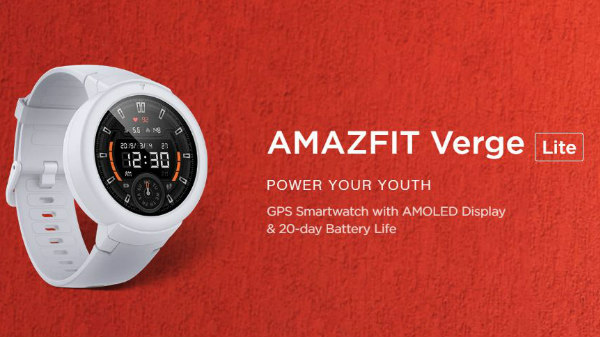 Is Amazfit Verge Lite The Best Smartwatch Under Rs. 5,000 In India? -  Gizbot News