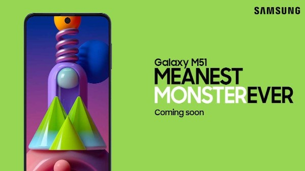Samsung Galaxy M51 Teaser Page Goes Live On Amazon Ahead Of Launch