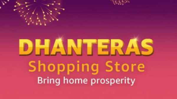Amazon Dhanteras Store: Offers On Smartphones, Gadgets And Other Home Products
