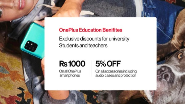 OnePlus Education Benefits Programme Launched In India: Get Rs. 1000 Discount And More