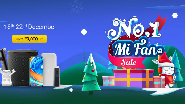 Mi 1 Fan Sale Offers: Discount Offer On Mi Smartphones, Mi Laptops Mi TVs, Smart Bands, And More