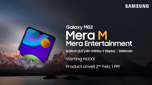 Samsung Galaxy M02: India Launch Date, Expected Price And More
