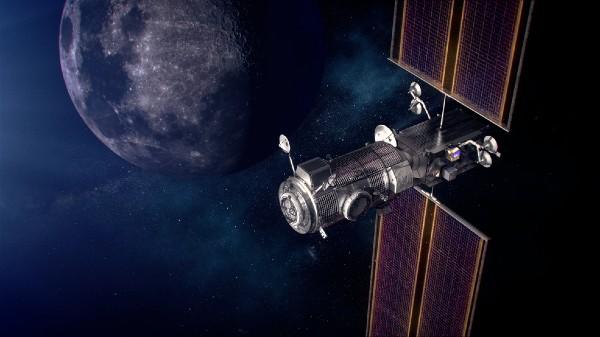 SpaceX Falcon Heavy Rocket For NASA Lunar Gateway Project