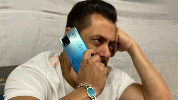 Realme 8 Spotted With Salman Khan