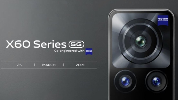 Vivo X60 Series With Zeiss Camera To Launch On March 25 In India