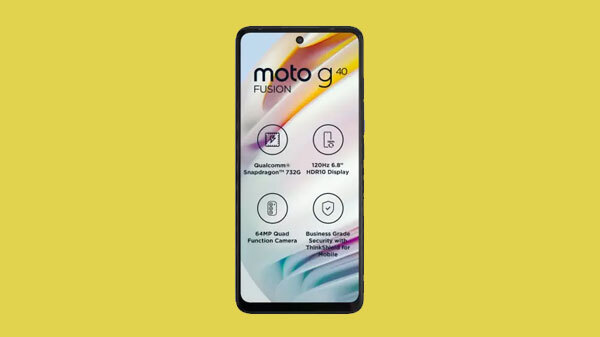Moto G40 Fusion Gets Rs. 500 Price Hike