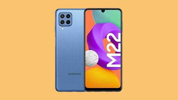 Samsung Galaxy M22 With Quad Cameras, 90Hz sAMOELD Display Launched
