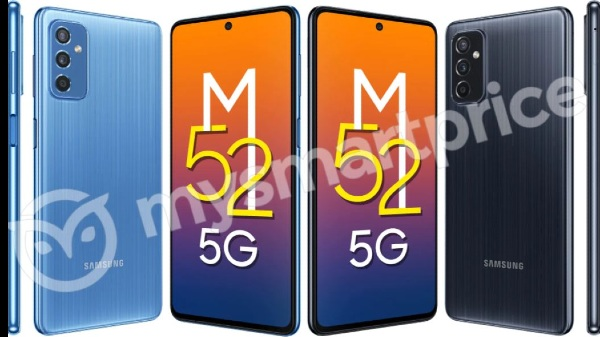 Samsung Galaxy M52 5G Renders Leaked: Here Are The Details