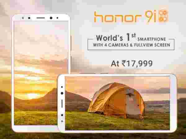 10% off on Honor 9i