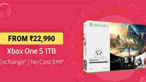 Xbox One S 1TB From Rs 22,990