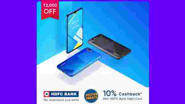 Realmy C2 (Rs. 2,000 off)