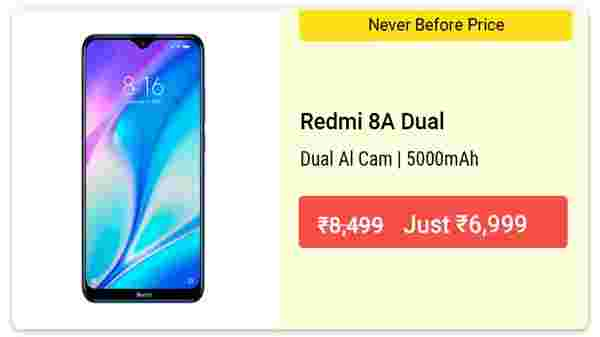 17% Off On Redmi 8A Dual