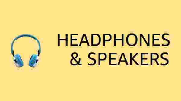 Headphones and Speakers Coupons