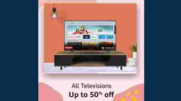 Upto 50% Off On All Television