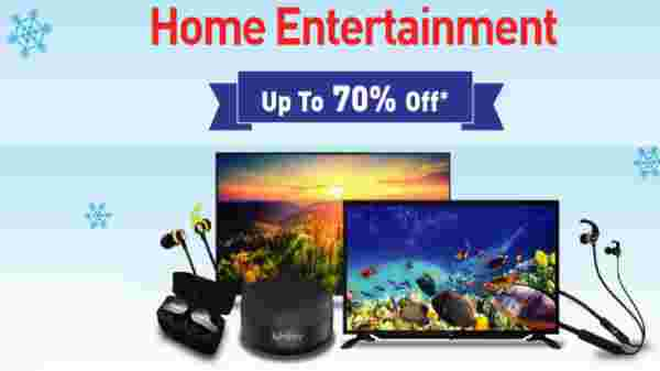 Up To 70% Off On Home Entertainment