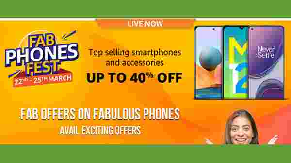 Amazon Fab Phones Fest March 2021 Edition Started