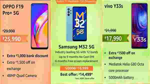Amazon Great Indian Shopping Festival Sale 2021