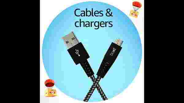 Cables And Chargers Starting From Rs. 49