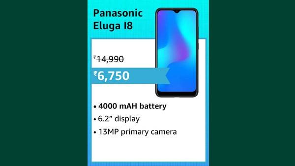 55% Off On Panasonic Eluga I8