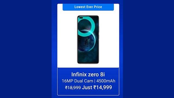 21% Off On Infinix Zero 8i