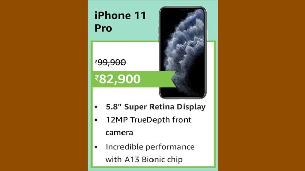 17% Off On Apple iPhone 11 Pro