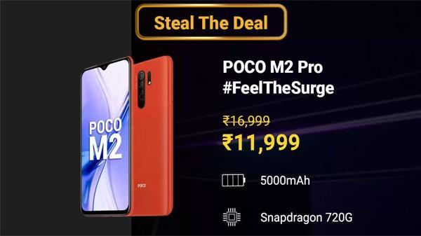 Poco M2 Pro (29% Off )