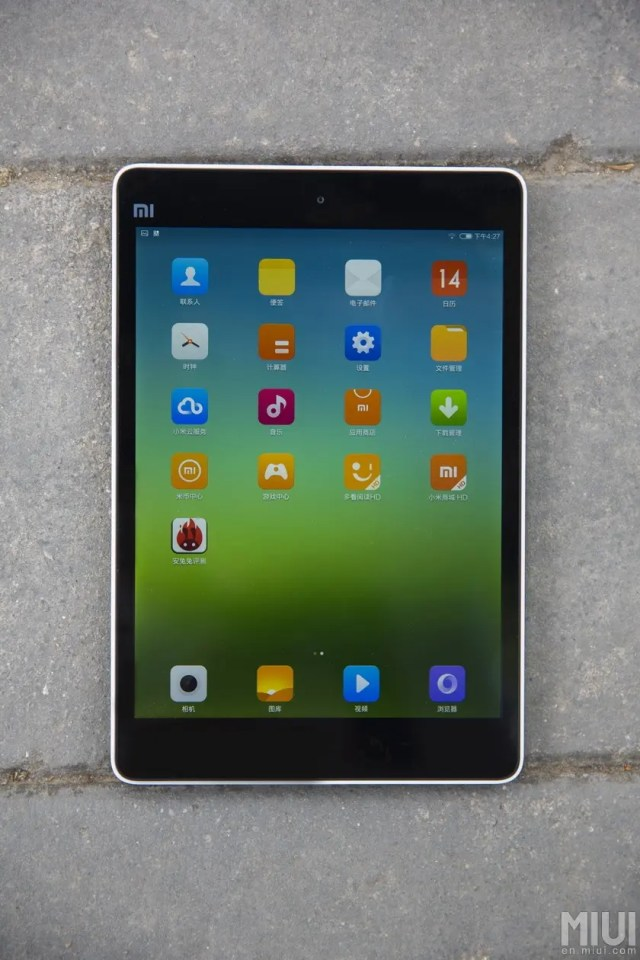xiaomi mipad tablet